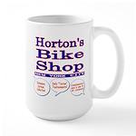 Horton's Bike Shop Large Mug