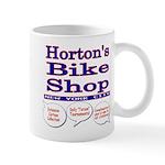 Horton's Bike Shop Mug