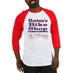 Horton's Bike Shop Baseball Jersey