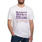 Horton's Bike Shop Fitted T-Shirt