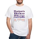 Horton's Bike Shop White T-Shirt