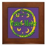 NOLA Water Meter Framed Tile