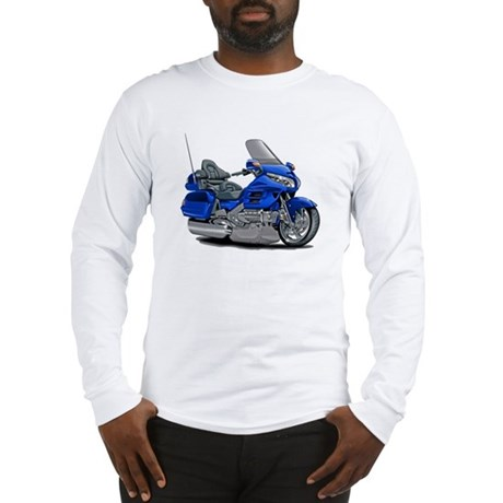 Goldwing Blue Bike Long Sleeve T-Shirt