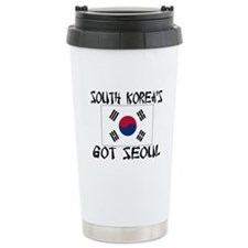 South Korea's Got Seoul! Ceramic Travel Mug
