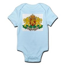 Bulgaria Coat Of Arms Infant Creeper