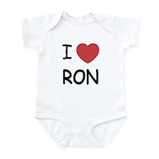 I heart Ron Infant Bodysuit