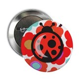 Itty Bitty Ladybug 2.25&quot; Button