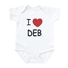 I heart Deb Infant Bodysuit