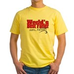 World's Best Farter (oops.. FATHER! Yellow T-Shirt