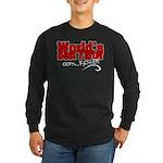 World's Best Farter (oops Long Sleeve Dark T-Shirt