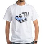 64 EH Holden White T-Shirt (Blue)