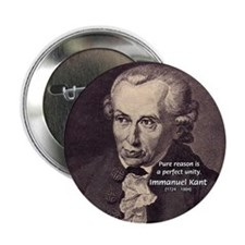"Immanuel Kant Reason 2.25"" Button (10 pack)"