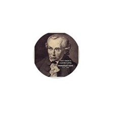 Immanuel Kant Reason Mini Button (10 pack)