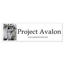 Project Avalon Bumper Sticker