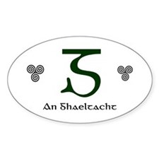 An Ghaeltacht Decal
