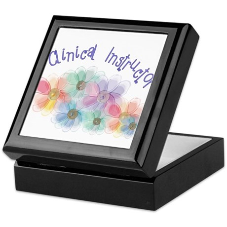 Clinical Nursing Instructor Keepsake Box