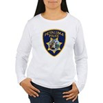 Petaluma Police Women's Long Sleeve T-Shirt