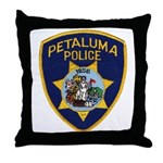 Petaluma Police Throw Pillow