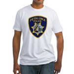 Petaluma Police Fitted T-Shirt