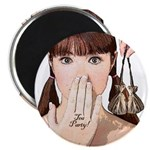 """Tea Party! 2.25"""" Magnet (10 pack)"""