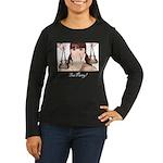 Tea Party! Women's Long Sleeve Dark T-Shirt