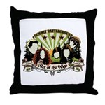 Bad Wigs Throw Pillow