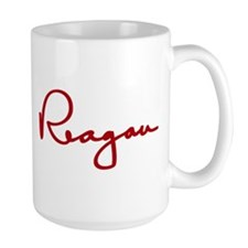 Ronald Reagan Signature Coffee Mug