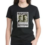 Young Brothers Wanted Women's Dark T-Shirt