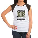 Young Brothers Wanted Women's Cap Sleeve T-Shirt