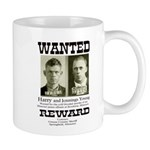 Young Brothers Wanted Mug