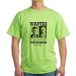 Young Brothers Wanted Green T-Shirt