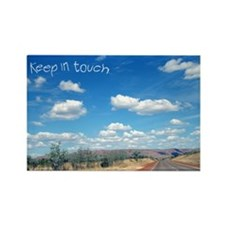 Open Road Rectangle Magnet (100 pack)