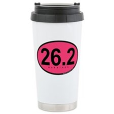 26.2 Marathon Ceramic Travel Mug