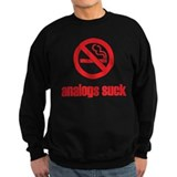 Analogs Suck Jumper Sweater
