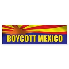 Boycott Mexico Bumper Sticker