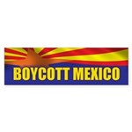 Boycott Mexico Sticker (Bumper)