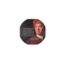 David Hume Philosophy Mini Button (10 pack)