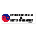 Divided Government Sticker (Bumper 10 pk)