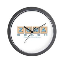 Zuma Beach Ca Wall Clock
