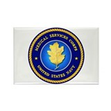 Navy Medical Services Rectangle Magnet