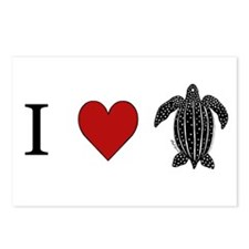Leatherback Postcards (Package of 8)