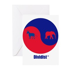 Dividist Greeting Cards (Pk of 10)