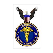 Navy Corpsman Rectangle Decal