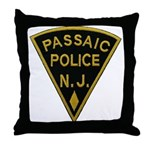 Passaic Police Throw Pillow