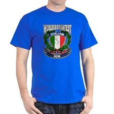 World's Greatest Italian Son T-Shirt