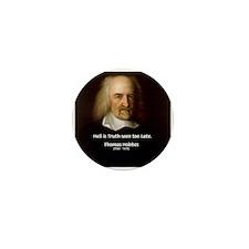 Thomas Hobbes Truth Mini Button (10 pack)