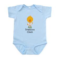 Tri Chick Infant Bodysuit