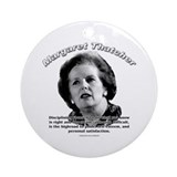 Margaret Thatcher 01 Ornament (Round)