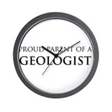 Proud Parent: Geologist Wall Clock
