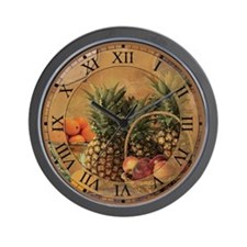 Fruit Designs Wall Clock